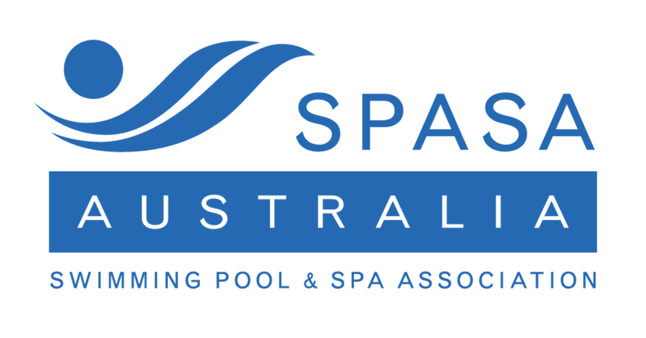 Swimming pool and spa association logo