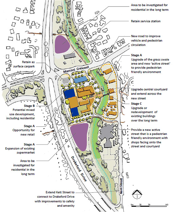 Kambah Group Centre Master Plan Environment Planning And Sustainable Development Directorate