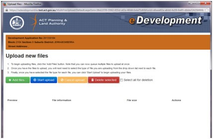Image showing all the documents deleted