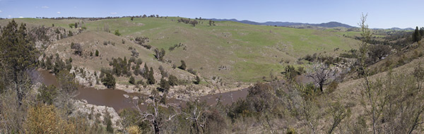 Molonglo River Valley panorama