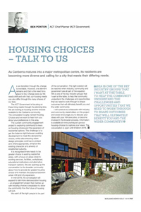 Article as it appeared in HIA's Building News